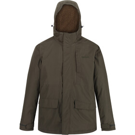Regatta Penryn Waterproof Insulated Jacket Men, dark khaki